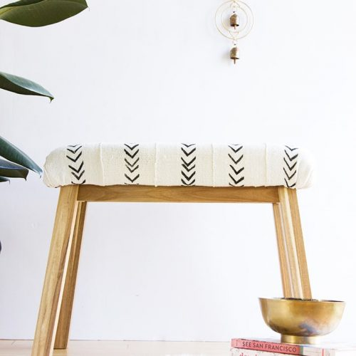 Ikea-Hack-Mudcloth-Upholstered-Bench-4